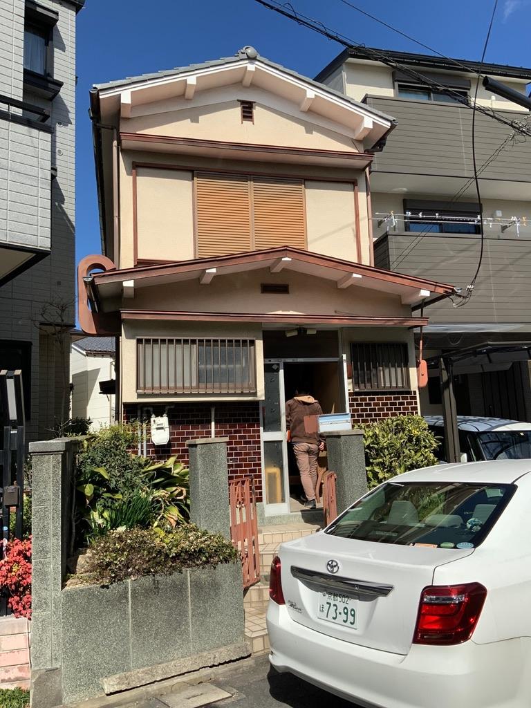 京都市 解体工事 「 伏見区深草 木造2階建 」