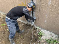 京都市 解体工事 『伏見区東陵町』CBブロック塀部分解体 DAY2 完工