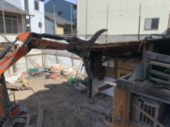 京都市 解体工事 「 南区東九条」 DAY5