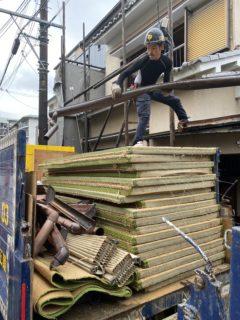 京都市 解体工事 「 南区西九条島町」DAY2