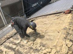京都市 解体工事 「 中京区西ノ京鹿垣町」 DAY2
