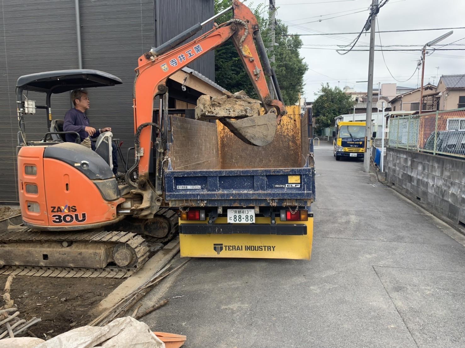 京都市 解体工事 「 東山区一橋野本町」DAY8 完工