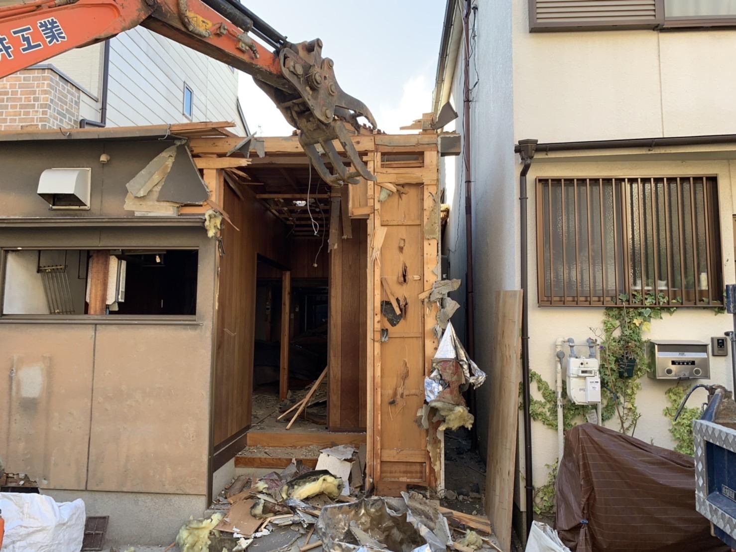 京都市 解体工事 「 右京区梅津中村町」DAY4