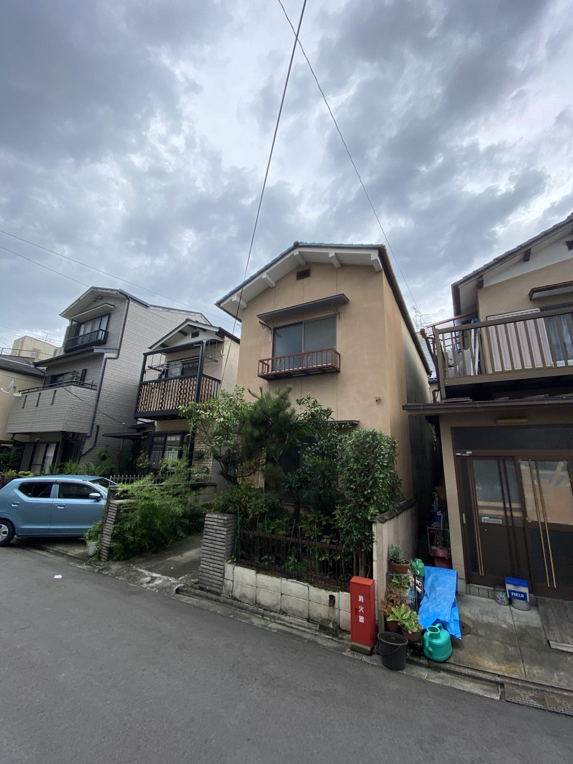 京都市 解体工事 「 伏見区  木造2階建 」 DAY1 着工