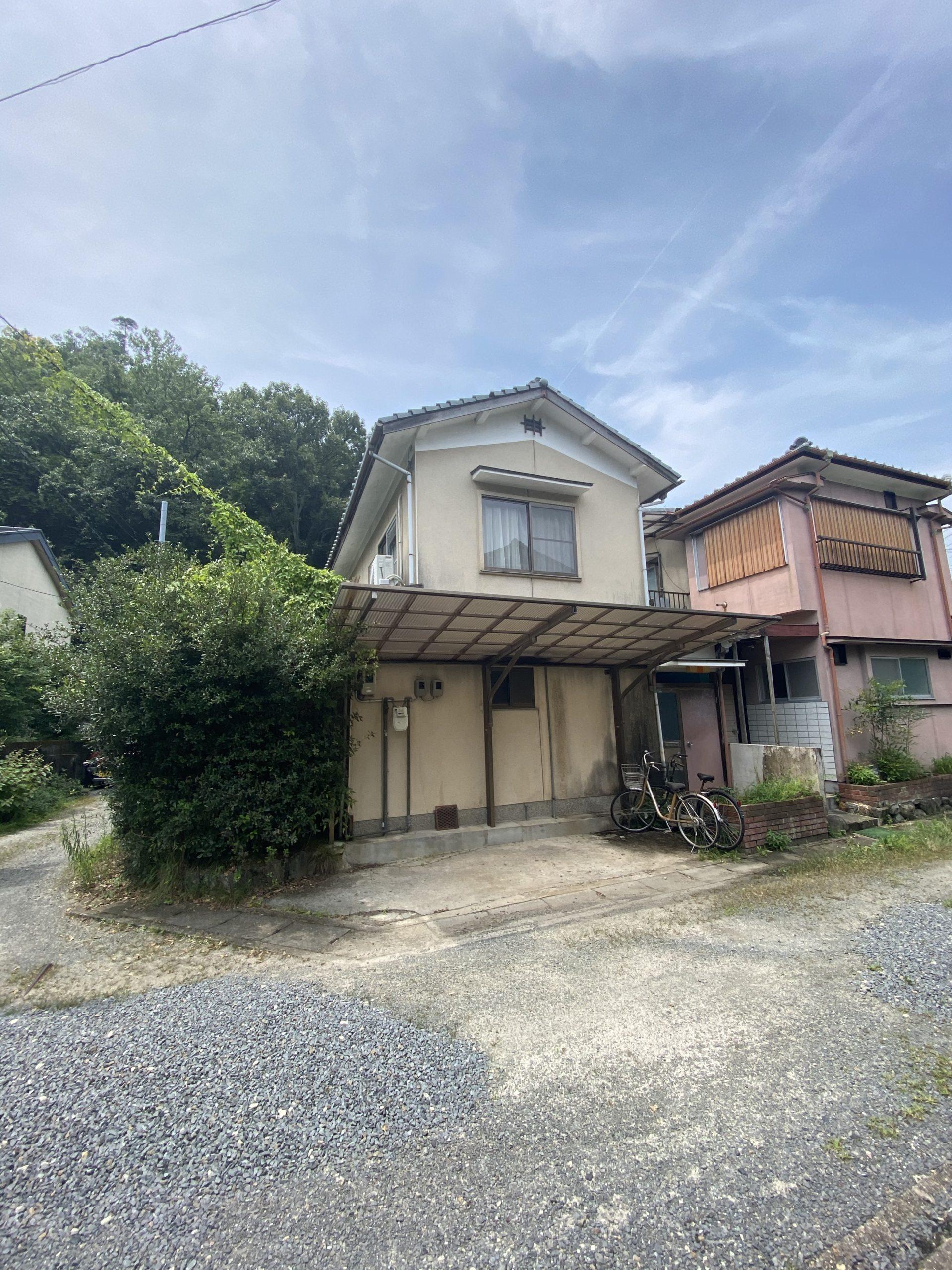 京都市 解体工事 「 左京区 松ヶ崎 木造2階建 」