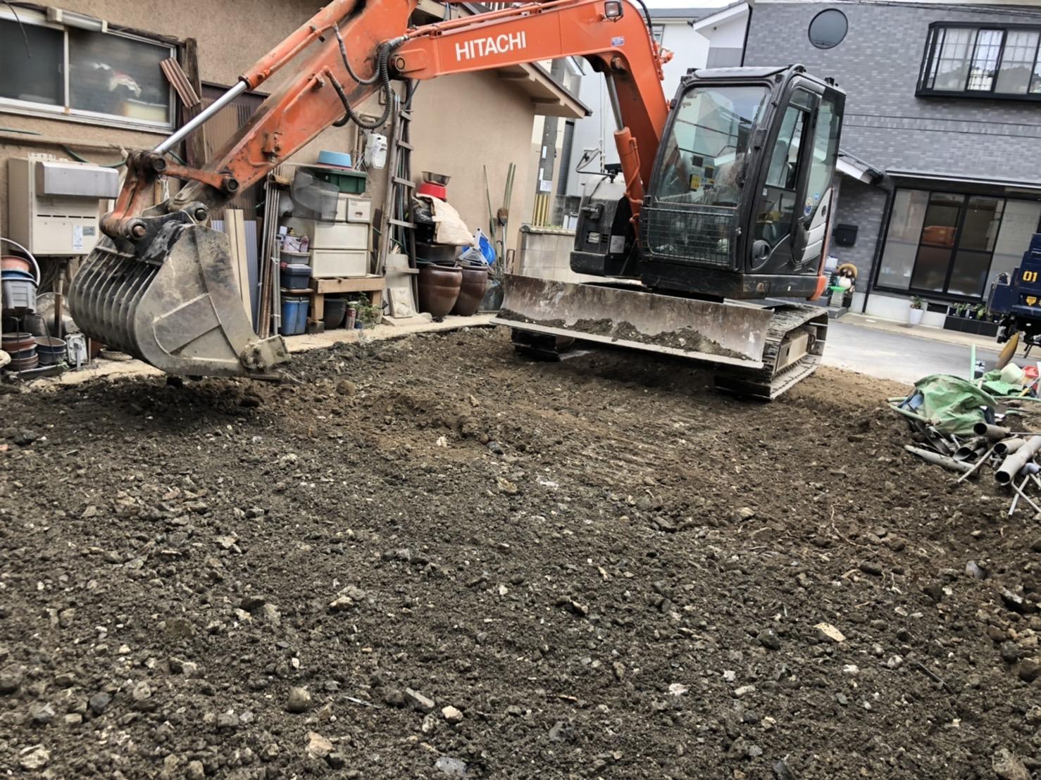 京都市 解体工事 「 伏見区  木造2階建 」 DAY3 完了