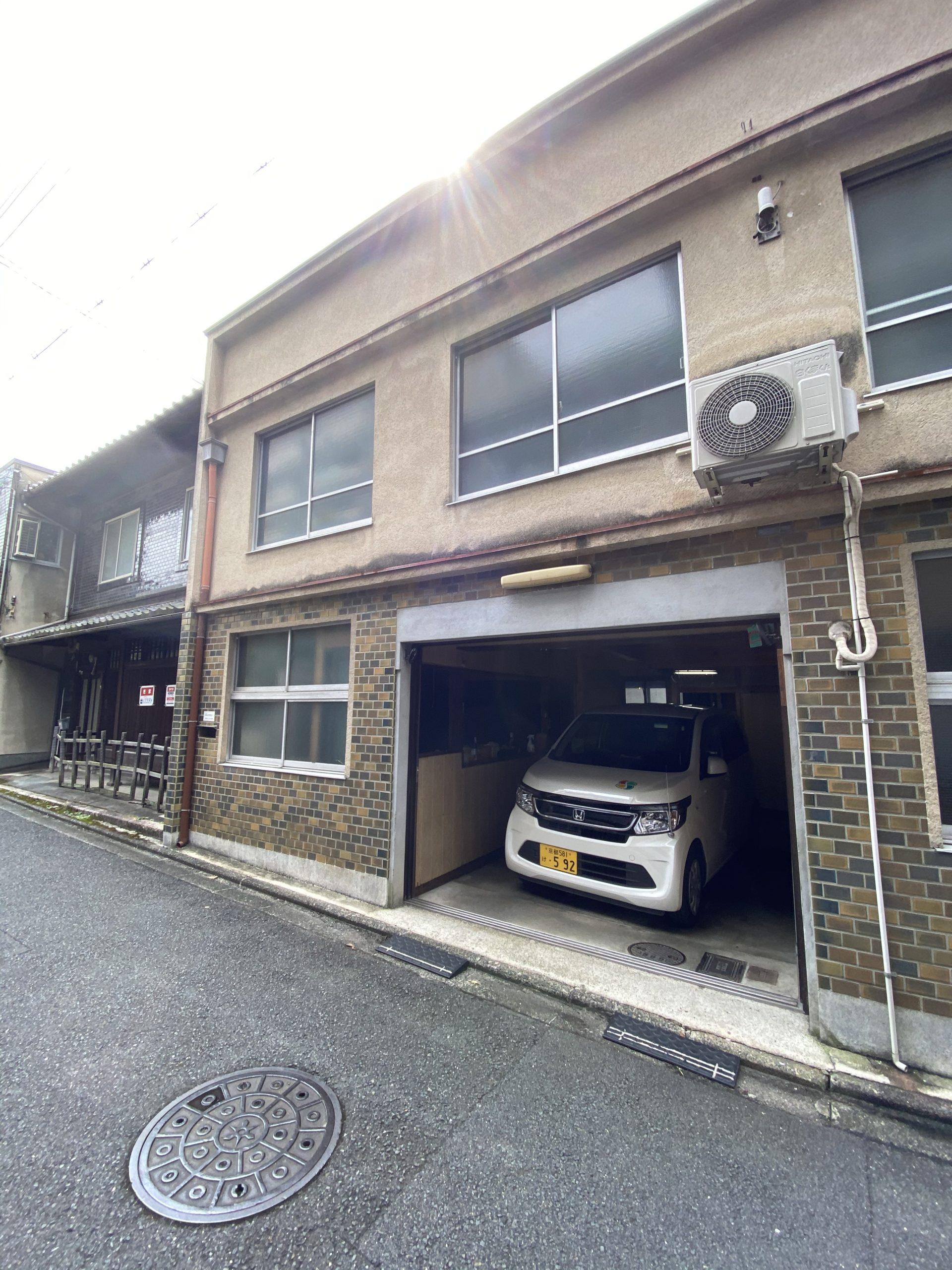 京都市 解体工事 「 上京区 堅富田町 木造2階建 」
