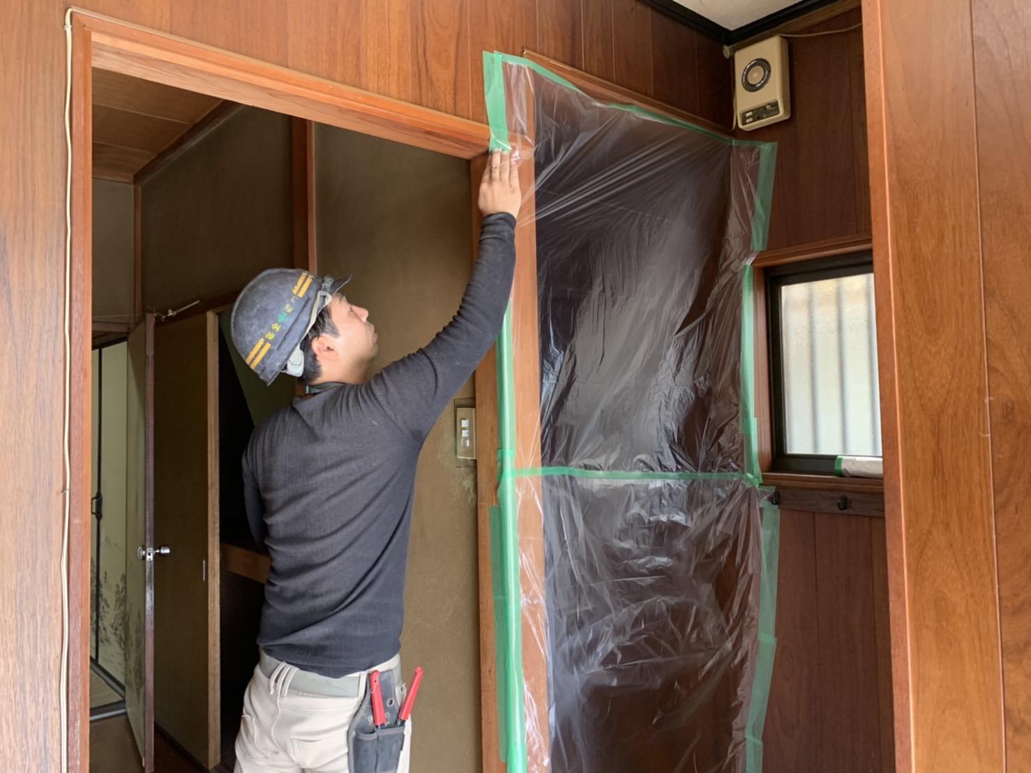 京都市 解体工事 「 滋賀県大津市  木造2階建家屋内部解体工事 」