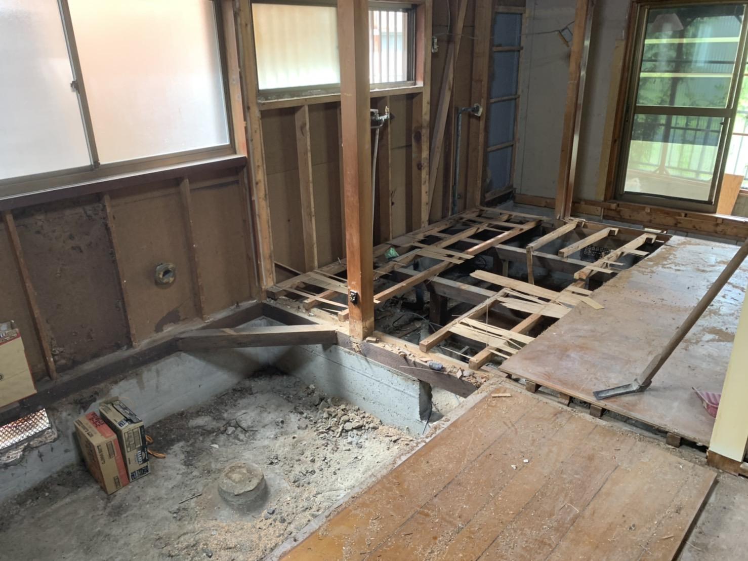 京都市 解体工事 「 滋賀県大津市  木造2階建家屋内部解体工事 」 DAY3 完了