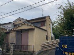 京都府 解体工事 「 向日市森本町 木造2階建 」