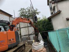 京都府 解体工事 「 向日市森本町 木造2階建 」 DAY4
