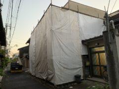 京都市 解体工事 「 中京区 西ノ京 木造2階建 」 DAY1 着工