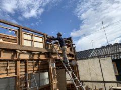 京都市 解体工事 「 中京区 西ノ京 木造2階建 」 DAY4