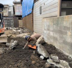 京都市 解体工事 「 中京区 西ノ京 木造2階建 」 DAY9 完了