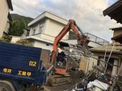 京都市 解体工事 「 伏見区醍醐」 DAY3