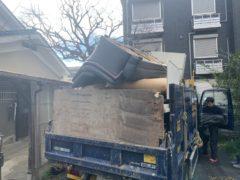 京都市 不用品撤去処分工事 「 右京区」