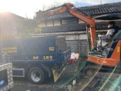 京都市 解体工事 「 西京区川島」外構撤去及び鋤取り工事