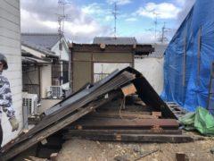 京都市 解体工事 「 北区大将軍」 DAY3