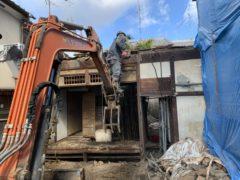 京都市 解体工事 「 北区大将軍」 DAY4