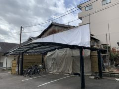 京都市 解体工事 「 上京区稲葉町」 DAY2