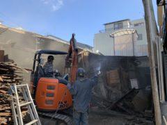 京都市 解体工事 「 南区東九条」 DAY2