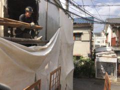 京都市 解体工事 「 右京区西京極」 DAY2