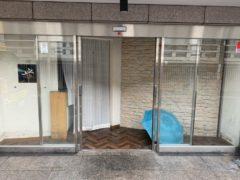 京都市 店舗内部解体工事 「 中京区山本町」