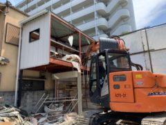 京都市 解体工事 「 右京区山ノ内八反田町」 DAY3