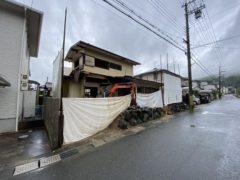 京都府 解体工事 「 長岡京市うぐいす台」雨天中止