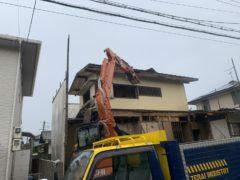 京都府 解体工事 「 長岡京市うぐいす台」 DAY2