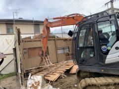 京都府 解体工事 「 長岡京市うぐいす台」 DAY4