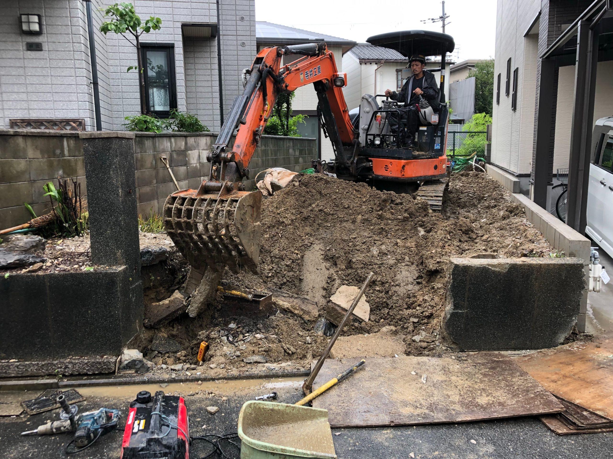 京都市 解体工事 「 伏見区深草 木造2階建 」 DAY5 完了