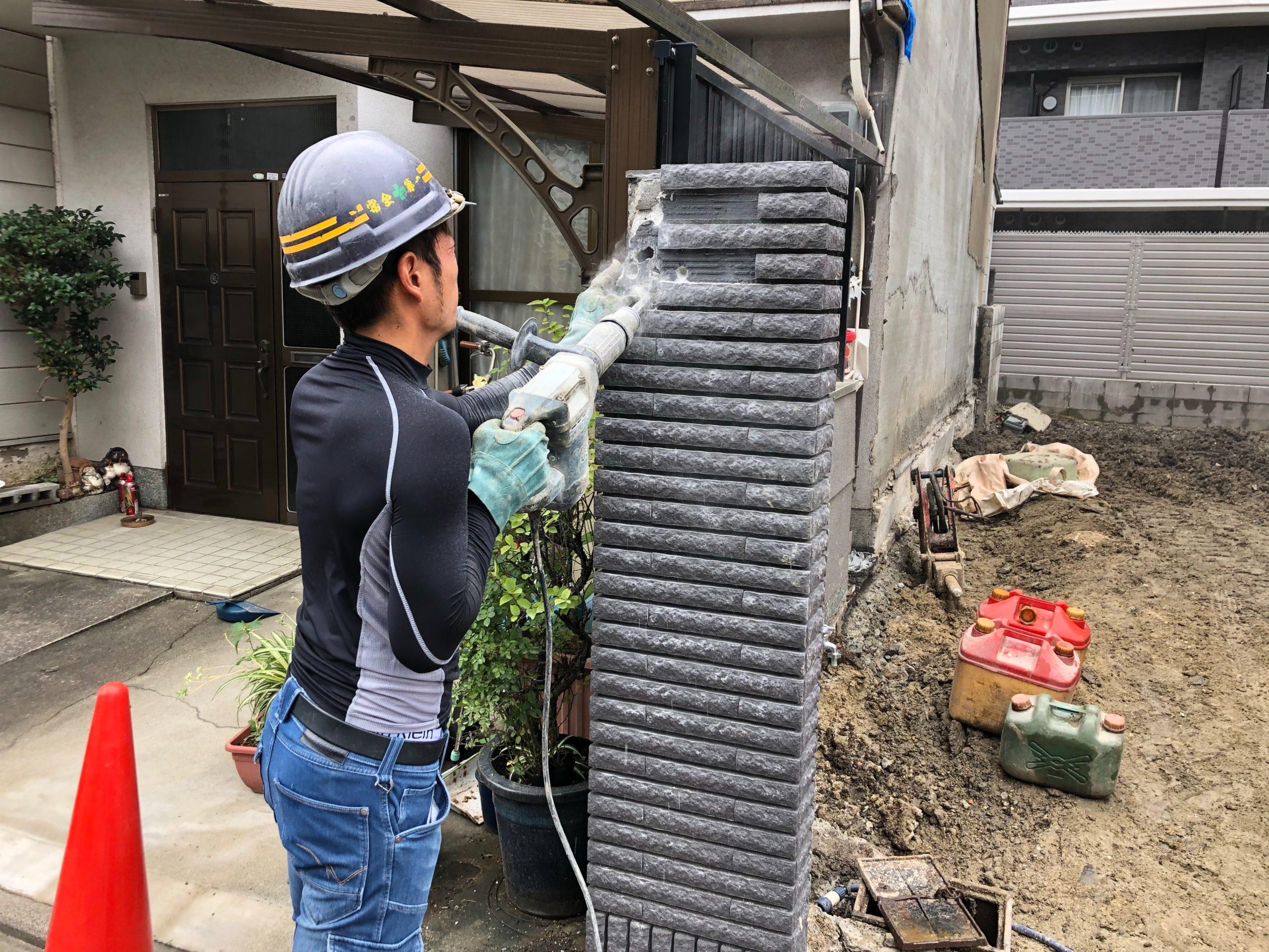 京都市 解体工事 「 南区 東九条 木造2階建 」 DAY7 完了
