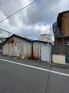 京都市 解体工事 「 南区東九条」 DAY1 着工